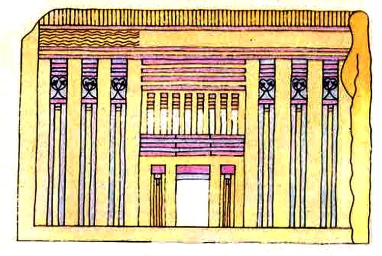 дворец в древнем египте