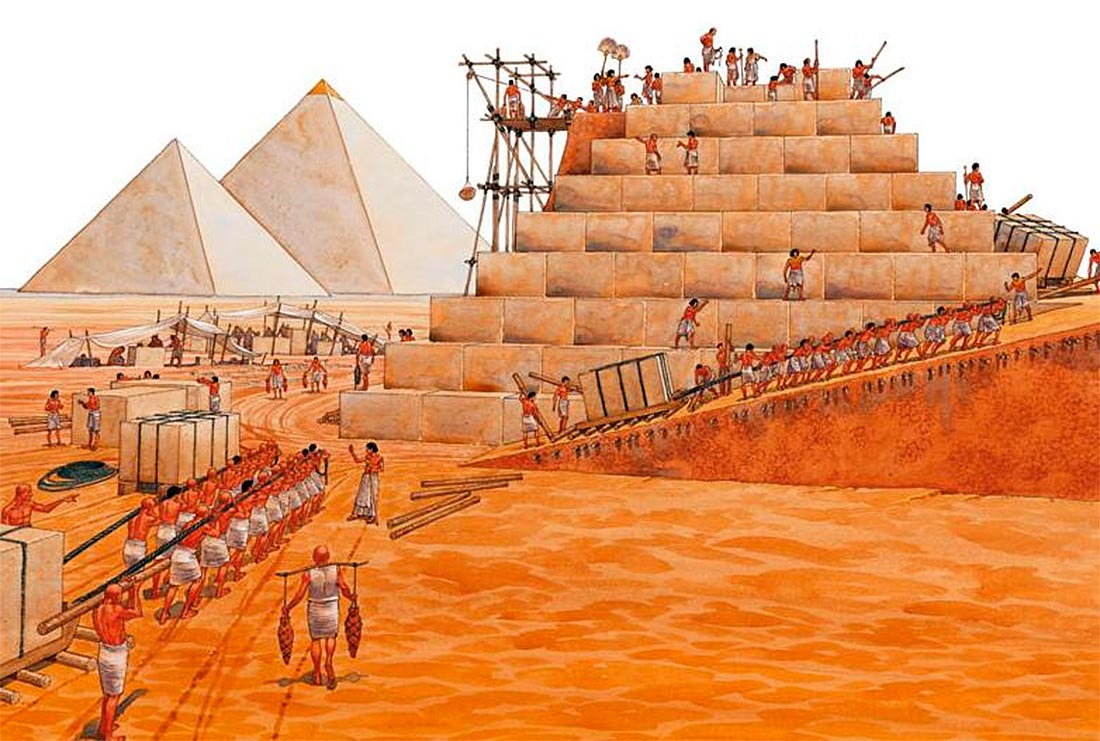 Картинки по запросу СТРОИТЕЛЬНАЯ ТЕХНИКА ДРЕВНЕГО ЕГИПТА