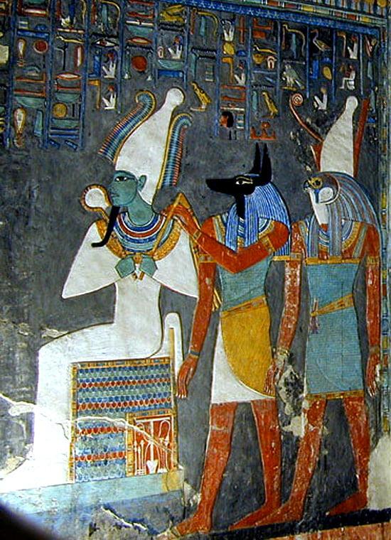 Изображение на предметах секса в древнем египте