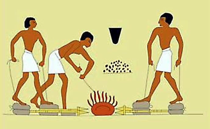 термобелье это как получали железо в древности для
